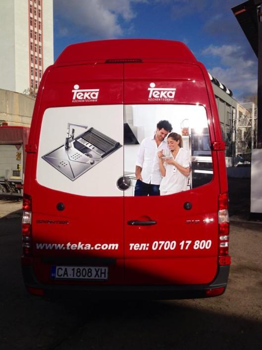 Брандиране на превозни средства TEKA