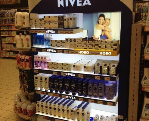 Свободностоящи стелажи - Nivea
