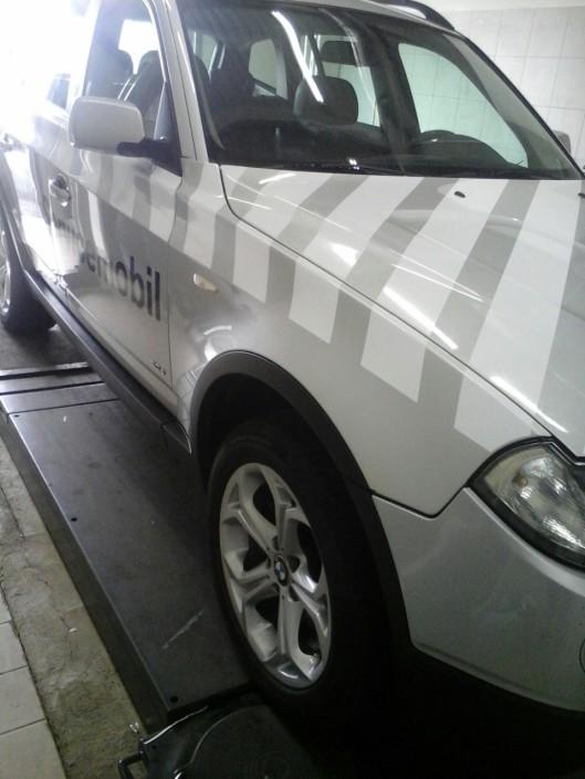 Брандиране на превозни средства BMW Serivce Car