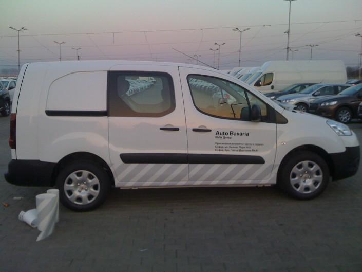 Брандиране на превозни средства Auto Bavaria