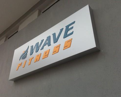 Несветещи табели от инокс, плексиглас и стъкло Wave Fitness