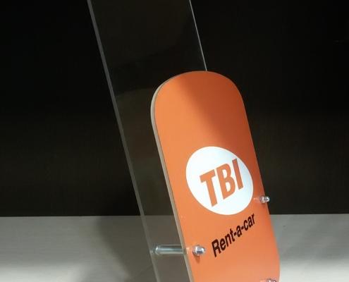Поставки за рекламни листовки на TBI Rent-a-Car