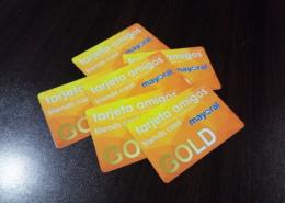 Изработка на PVC клиентски карти за отстъпка за магазин AMIGO