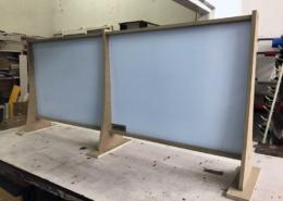 Предпазни модулни паравани (прегради, екрани, протектори, плаки) за вашия бизнес